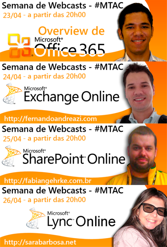 Semana de Webcasts – MTAC de Office 365